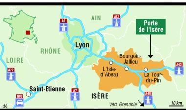 Porte de l 39 is re prend le relais de la ville nouvelle de l for Piscine isle d abeau