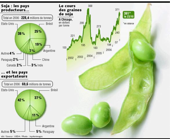 Soja le haricot magique de l 39 am rique a - Cuisiner les germes de soja ...