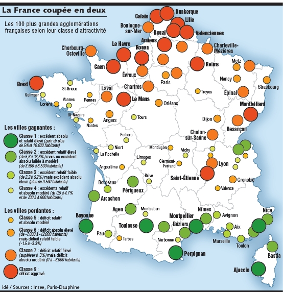 Ville Les Plus Attractives De France