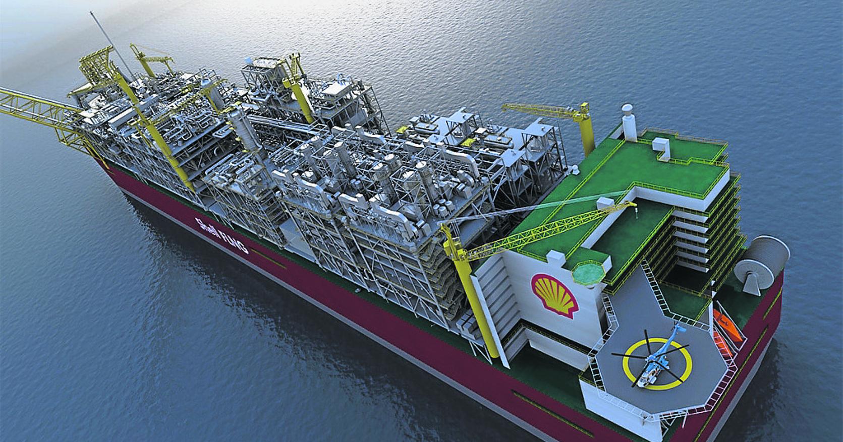 Gaz liqu fi shell donne son feu vert la construction d 39 une gigantesque usine flottante au - Usine de meuble au portugal ...