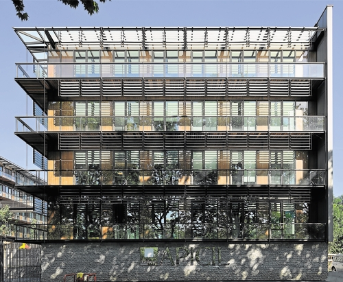 L 39 immeuble de bureau devient toujours plus responsable for Immeuble bureau