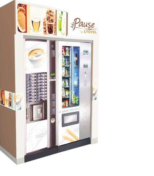 Photo Machine A Cafe Lyovel