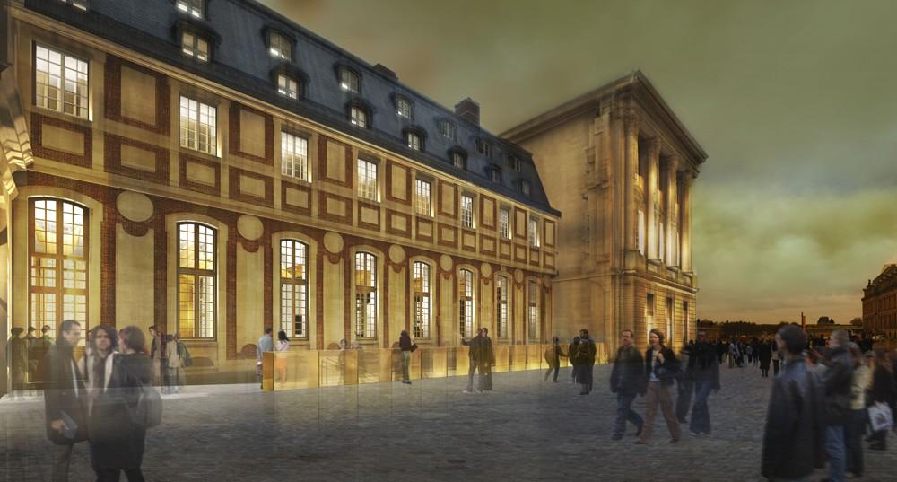 Au ch teau de versailles un vaste chantier men incognito a - Chateau de versailles gratuit ...