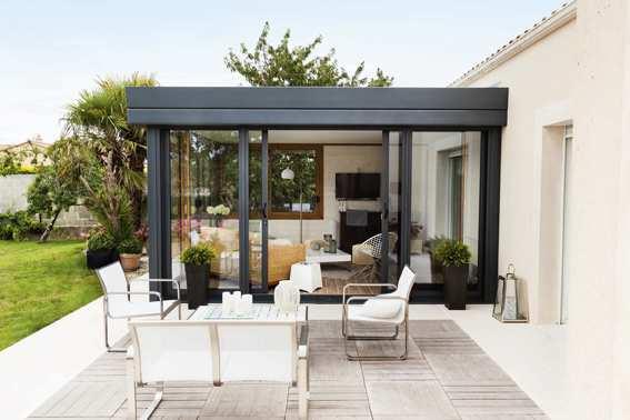 Prix d 39 une v randa bioclimatique - Prix d une veranda rideau ...