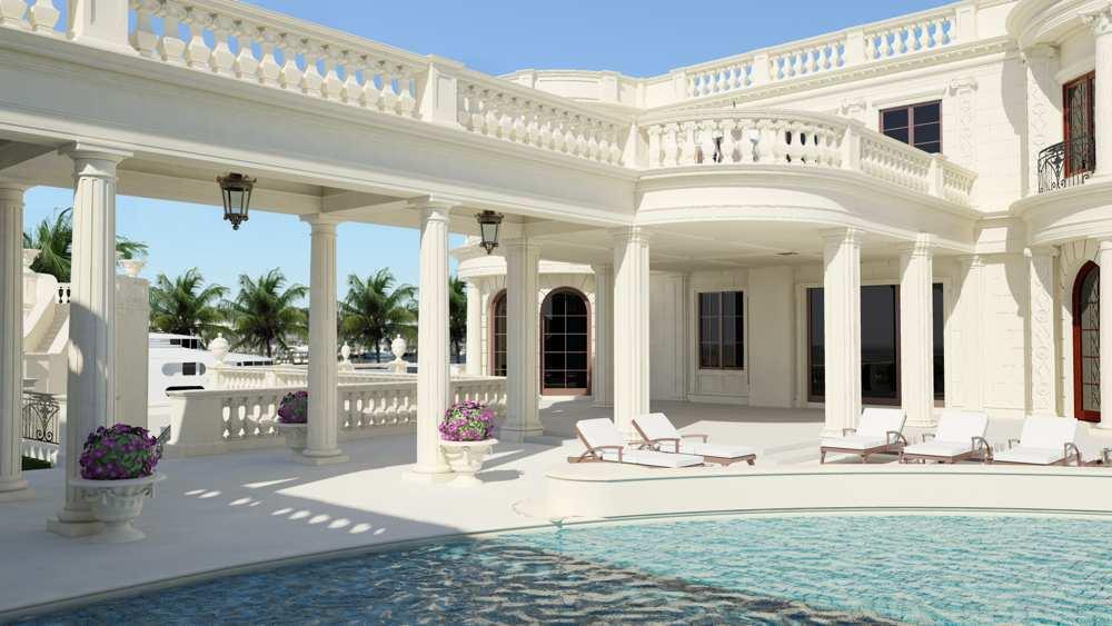Immobilier de luxe une villa vendre 139 millions de for Maison style americain interieur