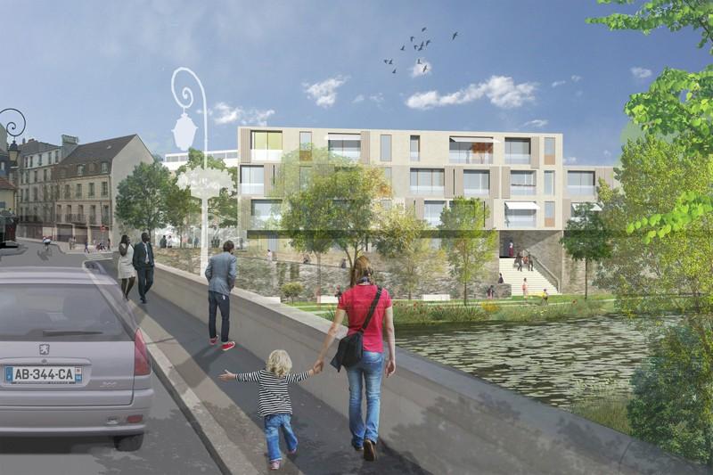 villeneuve saint georges revitalise son centre ancien d grad. Black Bedroom Furniture Sets. Home Design Ideas