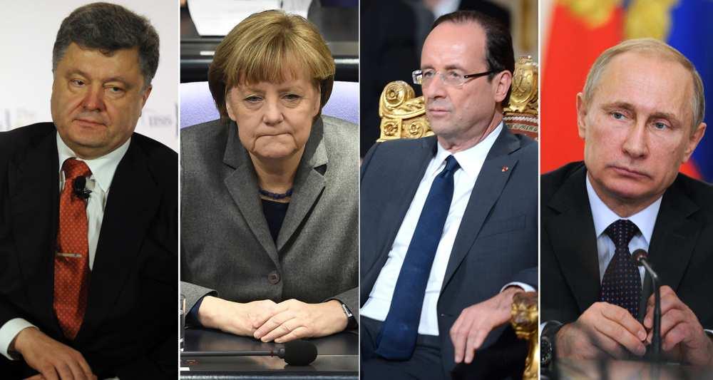 Ukraine: Hollande arrive à Minsk pour le
