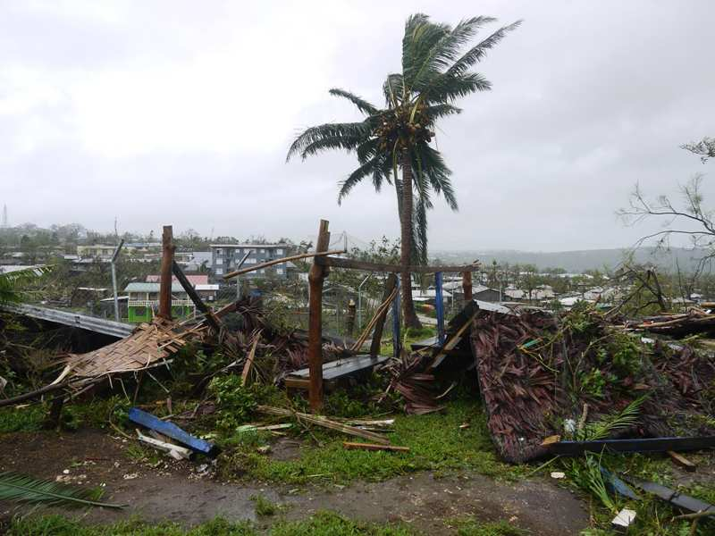 Cyclone Pam : en état d'urgence, le Vanuatu attend l'aide internationale