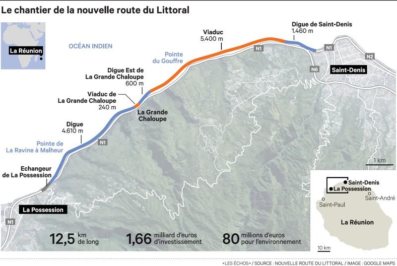 La route la plus chère au monde progresse à La Réunion