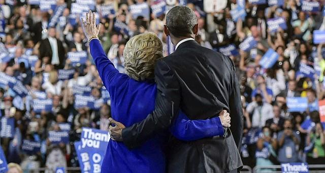 Obama passe le relais à Clinton à l'aube d'une campagne qui s'annonce difficile