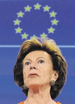 Bahamas Leaks : l'ex-commissaire Neelie Kroes échappe aux sanctions