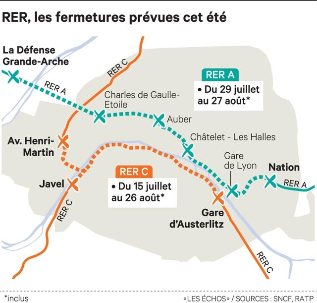 Plongée dans les entrailles du chantier parisien du RER A