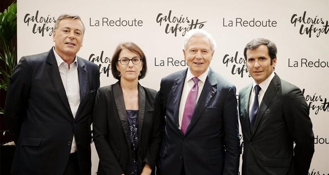 Les Galeries Lafayette se digitalisent avec La Redoute