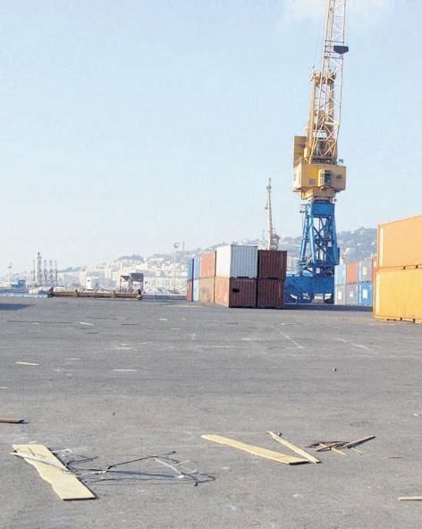 Les dockers de Sète dénoncent le port